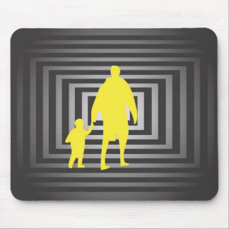 Father With Son Mouse Pad