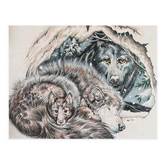 Father Wolf Postcard