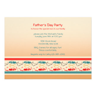 Father Words Father's Day Invitation