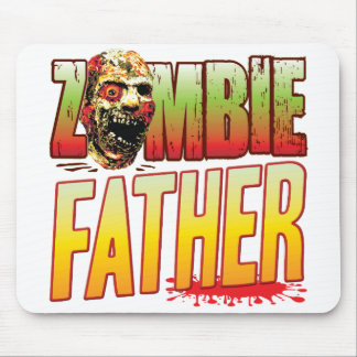 Father Zombie Head Mousepads