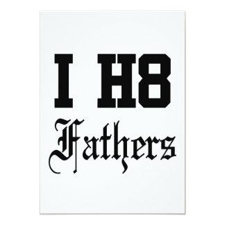 fathers 13 cm x 18 cm invitation card