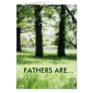 FATHERS ARE.. CARD