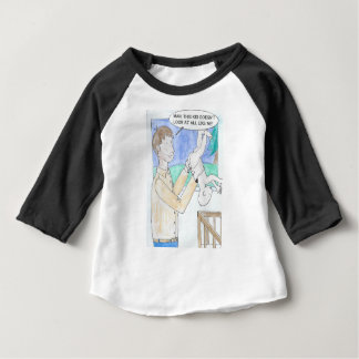Father's comic view of the day. baby T-Shirt