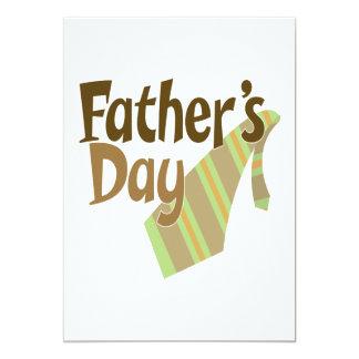 Fathers Day 13 Cm X 18 Cm Invitation Card