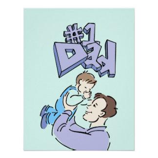 Father's Day #1 Dad Invite