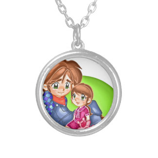 Father's Day 3 Personalized Necklace