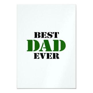 Father's Day 9 Cm X 13 Cm Invitation Card