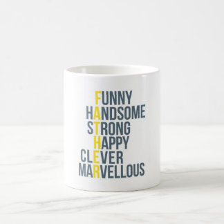 Father's Day Acronym Mug