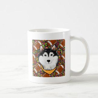Fathers Day Alaskan Malamute Coffee Mug