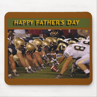 Father's Day American Football Mousepads