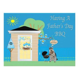 Father's Day Barbeque Invitation