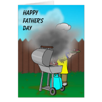 Fathers Day - BBQ Card