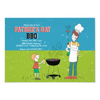 Father's Day BBQ Invitation