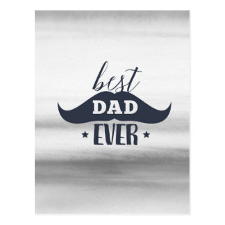 Father's day, Best dad ever, Gift for dad, for him Postcard