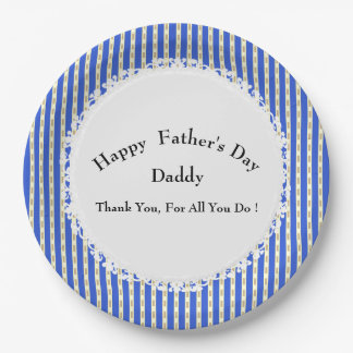 Father's-Day-Boat-Decking-Celebration-Template Paper Plate