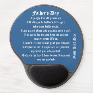Fathers Day by Martha Valencia view about Design Gel Mouse Mats