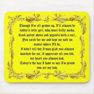 Fathers Day by Martha Valencia view about Design Mouse Pads
