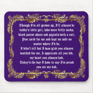Fathers Day by Martha Valencia view about Design Mousepad