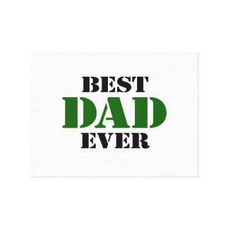 Father's Day Gallery Wrap Canvas