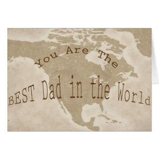 Father's Day Card--BEST Dad Card