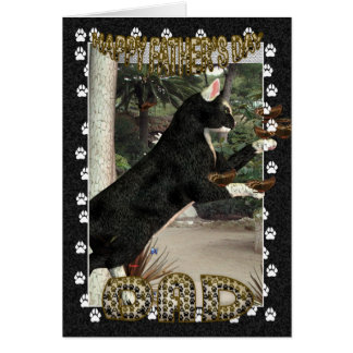 Father's Day Card Moonies Cool Cats Collection