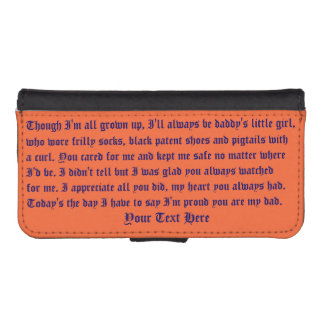 Fathers Day Case Wallet Galaxy S4 IP 5/5s