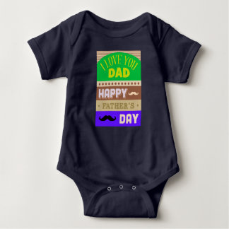 Father's Day Celebrate Baby Bodysuit
