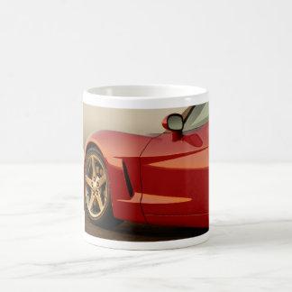 Father's Day Corvette Basic White Mug