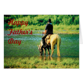 Father's Day Cowboy Card