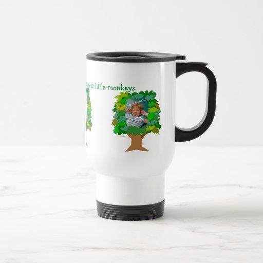 Fathers Day Customizable Photo Travel Mug Template