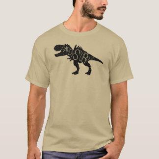 Fathers Day - Daddysaurus Dinosaur T-Shirt