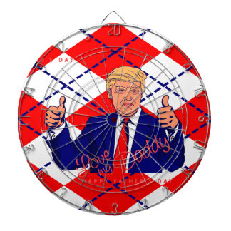 fathers day donald trump dartboard