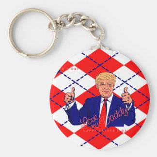 fathers day donald trump key ring