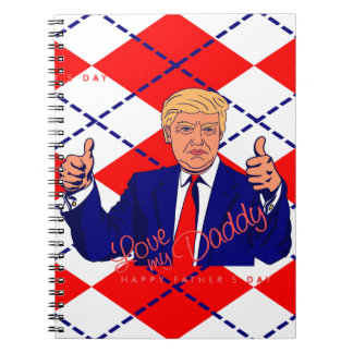 fathers day donald trump notebook