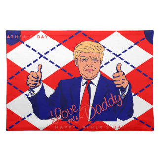 fathers day donald trump placemat