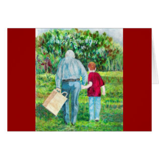 Father's Day drawing art Card