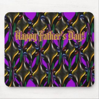 Father's Day Fractal Mousepad
