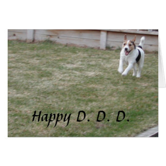 Father's Day from the Dog Greeting Card