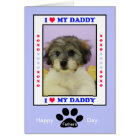 Father's Day from the Dog -- Your Photo Card