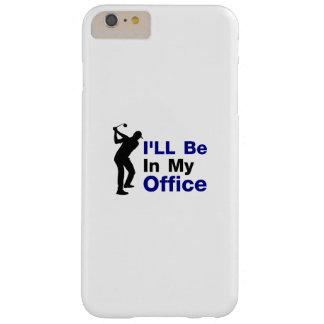 Fathers Day Gift Golf Dad Grandpa Golfing Golfer Barely There iPhone 6 Plus Case