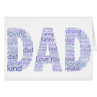 Father's Day Gift Greeting Card