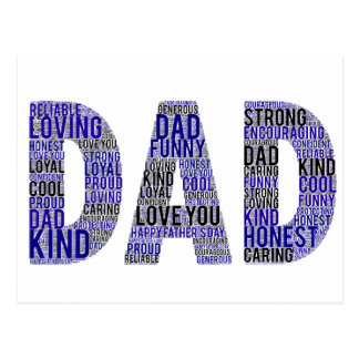 Father's Day Gift Postcard