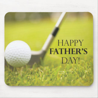 Father's Day Golf Mousepads