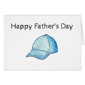 Father's Day Hat Card