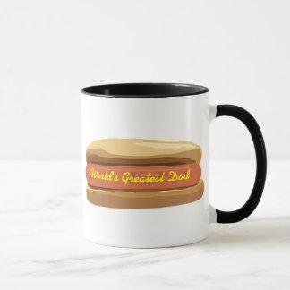 Father's Day Hotdog Mug - World's Greatest Dad