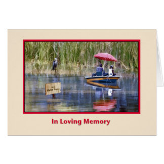Father's Day, In Remembrance Greeting Card