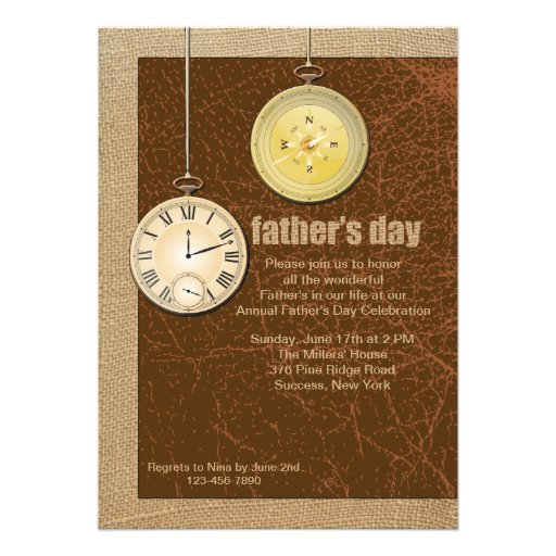 Father's Day Invitations