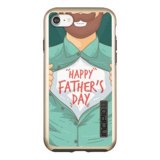 Fathers Day iPhone 7 DualPro Shine, Gold Incipio DualPro Shine iPhone 8/7 Case