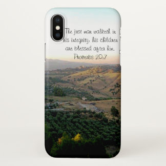 Father's Day Italy & Scripture Gifts iPhone X Case