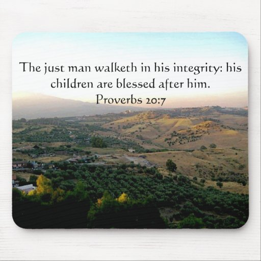 Father's Day Italy & Scripture Gifts Mousepads